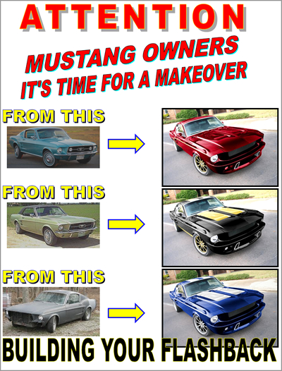 Attention Mustang Owners it's time for a makeover.