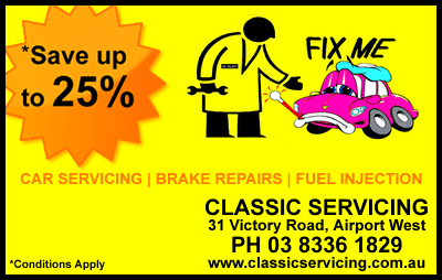 Car Service Special - June/July 2012